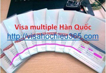 Visa multi hàn quốc